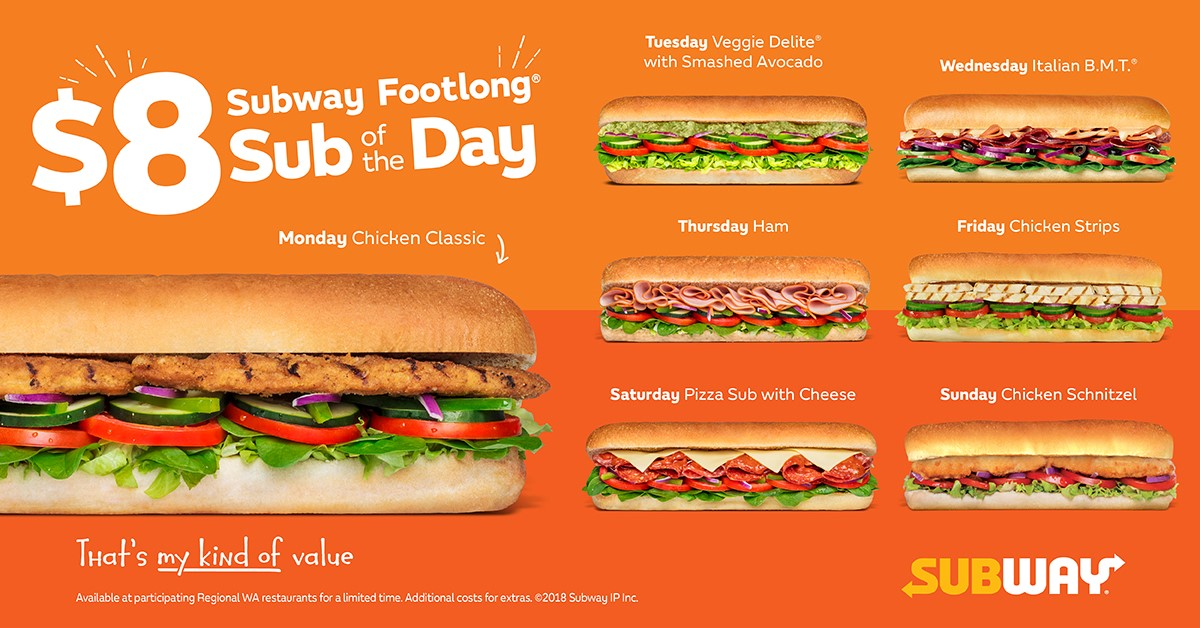 Footlong of the day